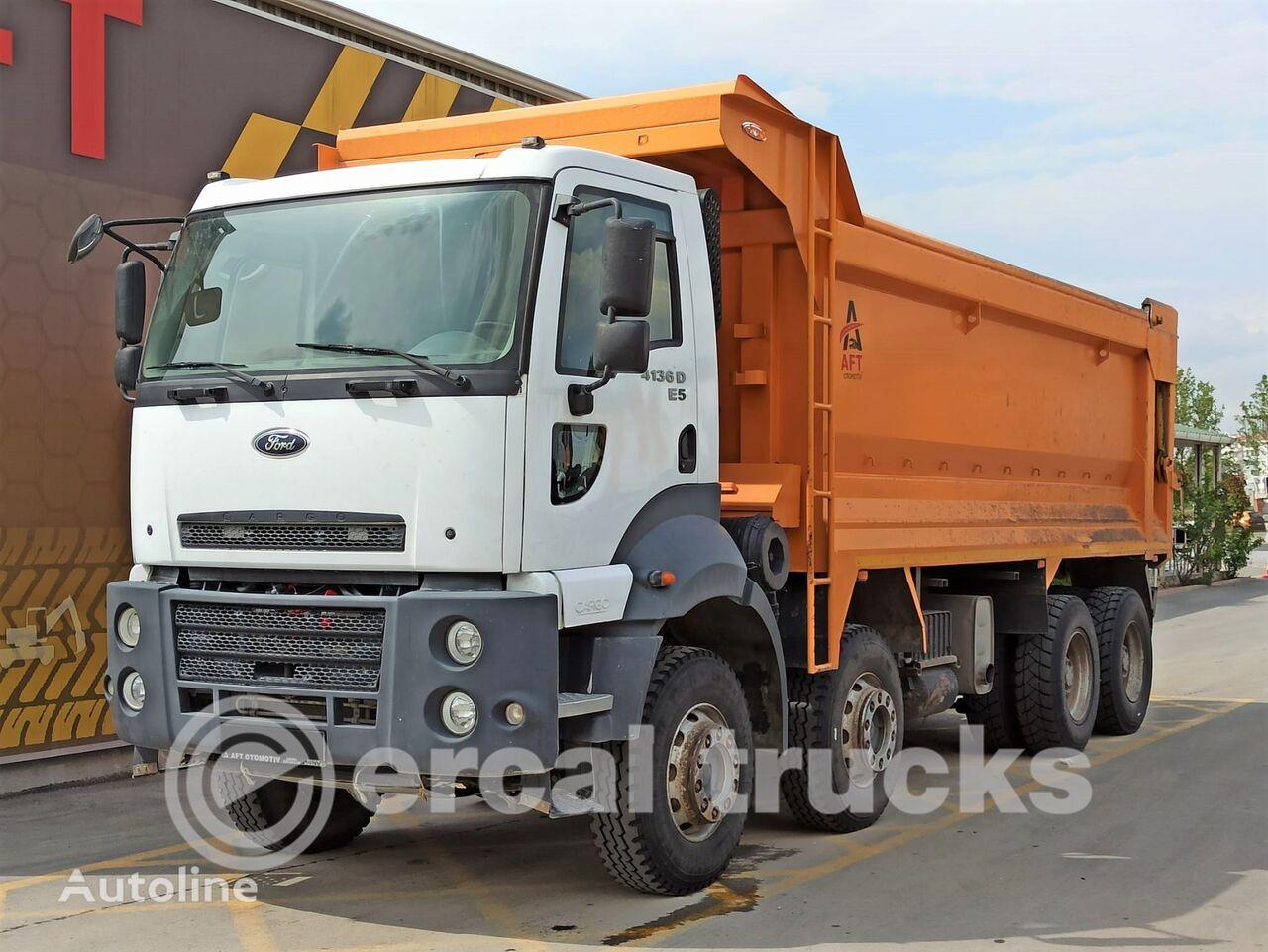 FORD 2015 CARGO 4136 D E5 AC 8X4 HARDOX TIPPER dump truck