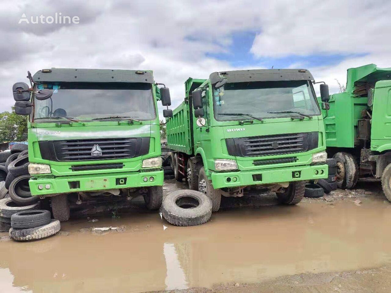 HOWO 8*4 375HP dump truck