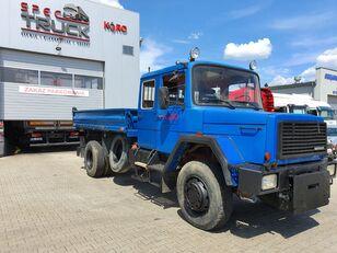 IVECO Magirus 160-230,3xTipper, Full Steel 4x4,V8 engine  dump truck