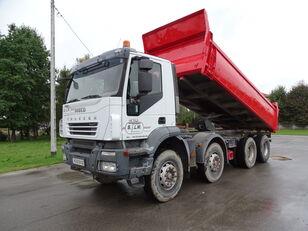 IVECO TRAKKER 410 / RETARDER / MANUAL / FRENCH CAR / 8X4 / GOOD / / / dump truck