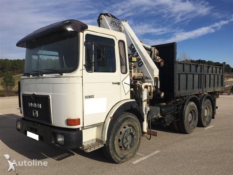 MAN 26.291 dump truck
