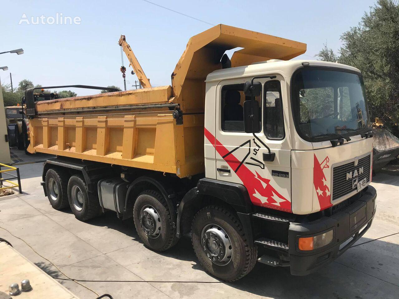 MAN 32.293 dump truck