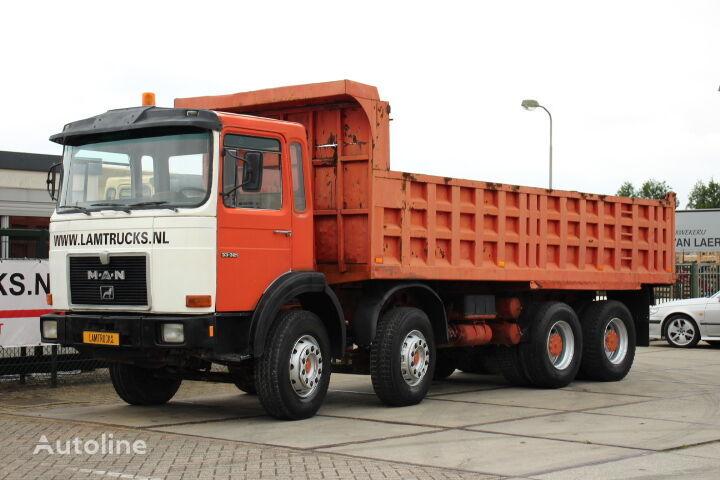 MAN 33.321 8X4 FULL STEEL dump truck