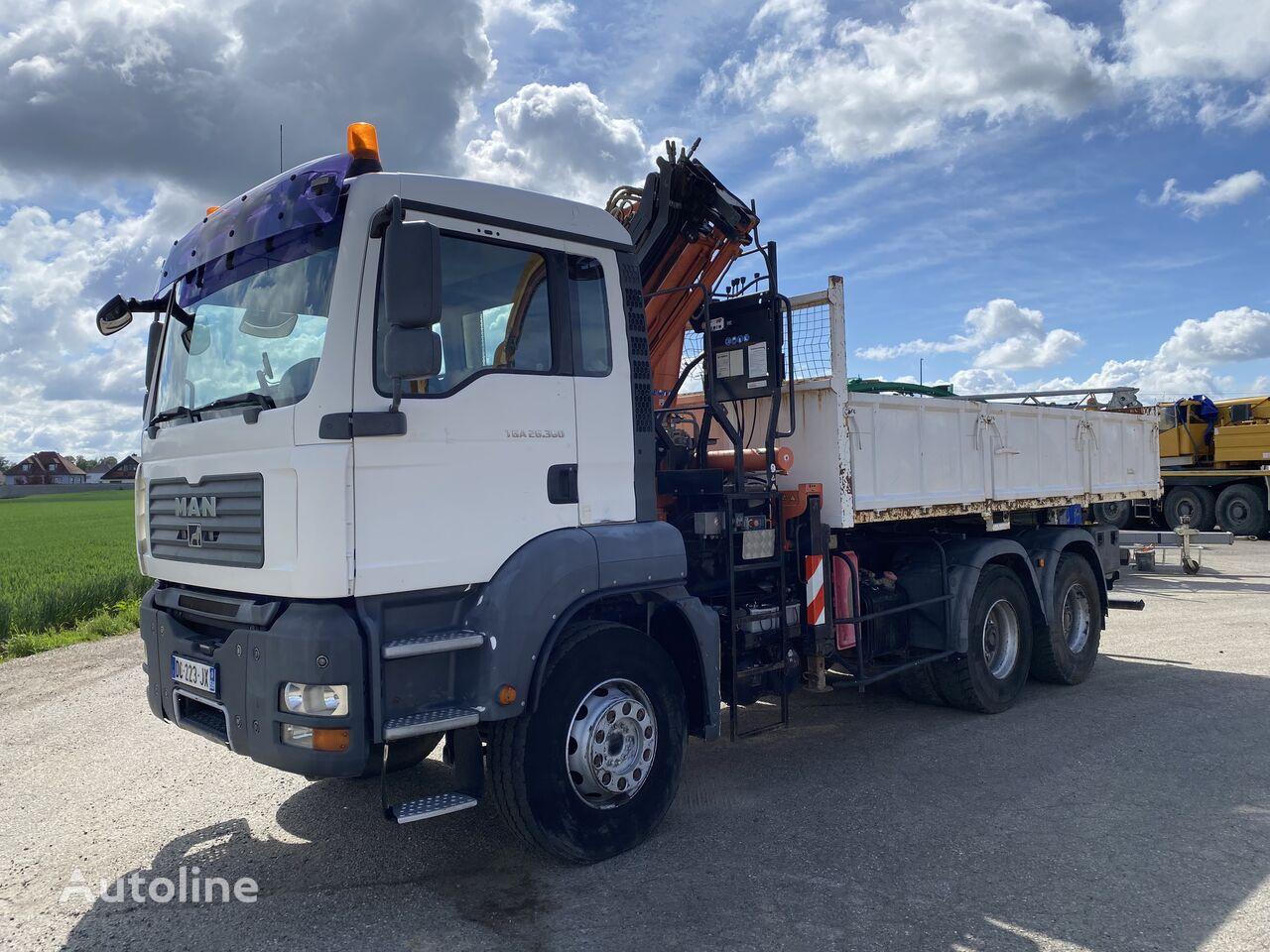 MAN TGA 26.360 /TEREX 165.2 dump truck