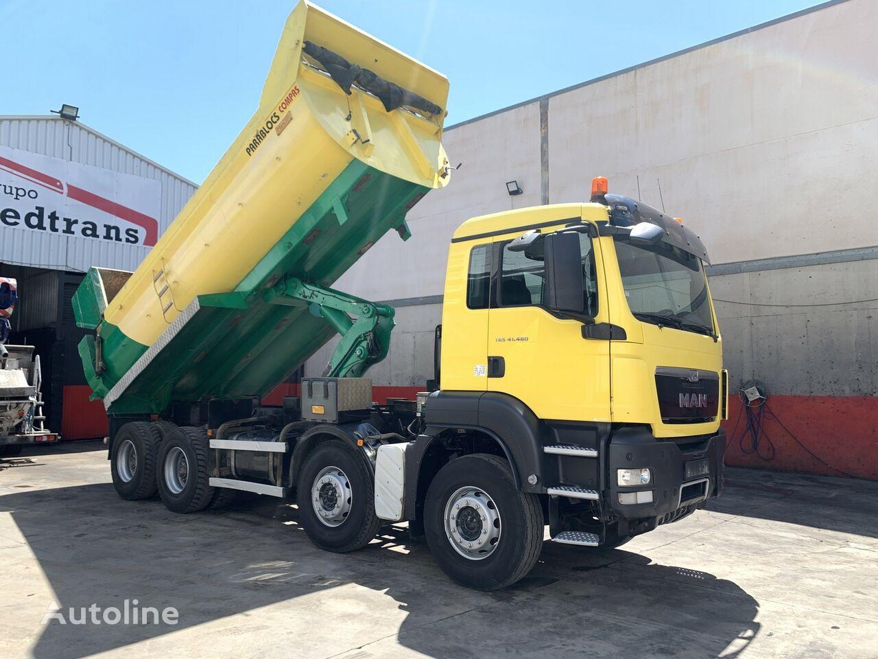 MAN TGS.41.480 dump truck