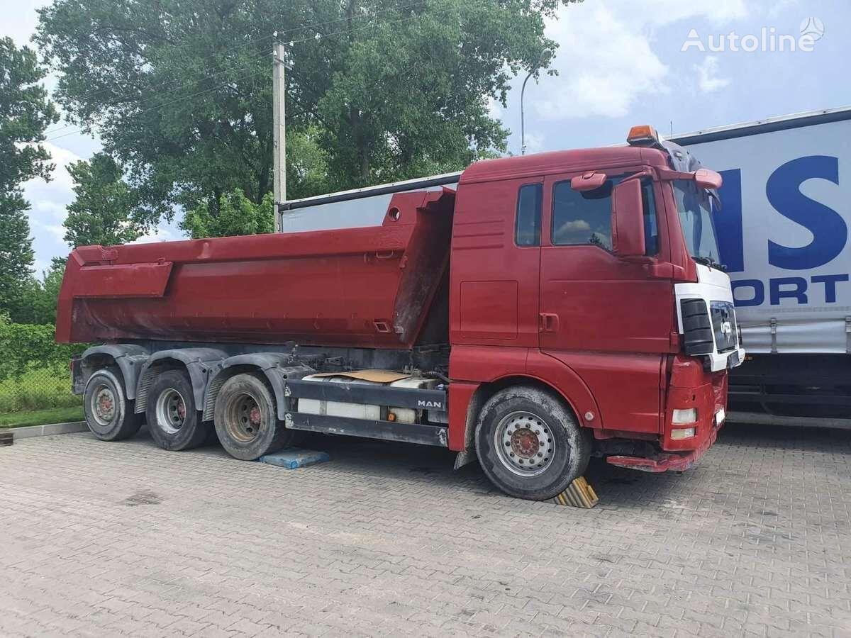 MAN TGX 35.540 dump truck for parts