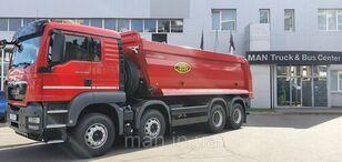 new MAN САМОСВАЛ СО СПАЛЬНИКОМ TGS 41.400 8X4 BB MEILLER dump truck