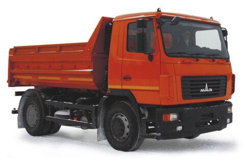 MAZ 5550V3-520-012  dump truck