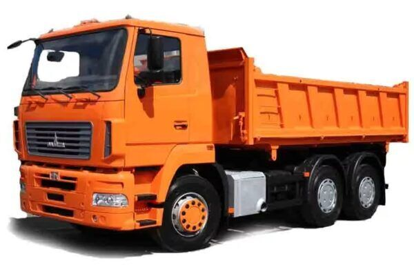 new MAZ 6501C9 dump truck