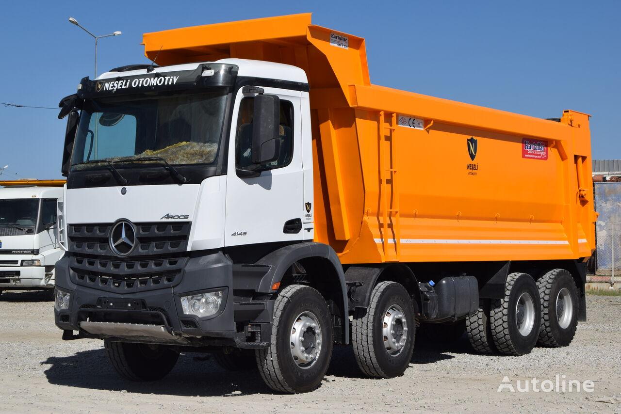 MERCEDES-BENZ  2016 MODEL 4145 AROCS E6 A/C MANUEL HARDOX TIPPER 15 PCS dump truck