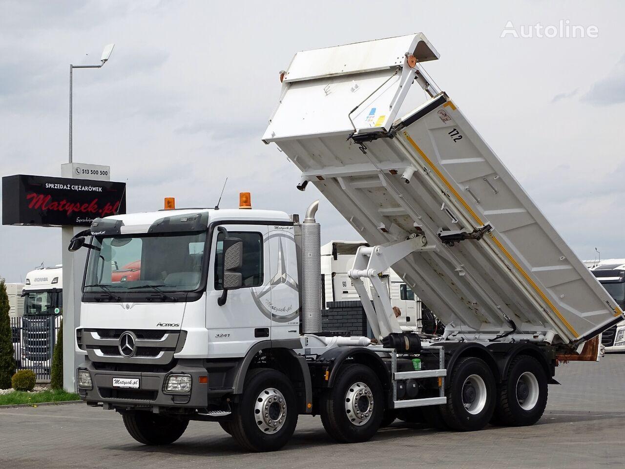 MERCEDES-BENZ ACTROS 3241/ 2 SIDED KIPPER / BORTMATIC / dump truck