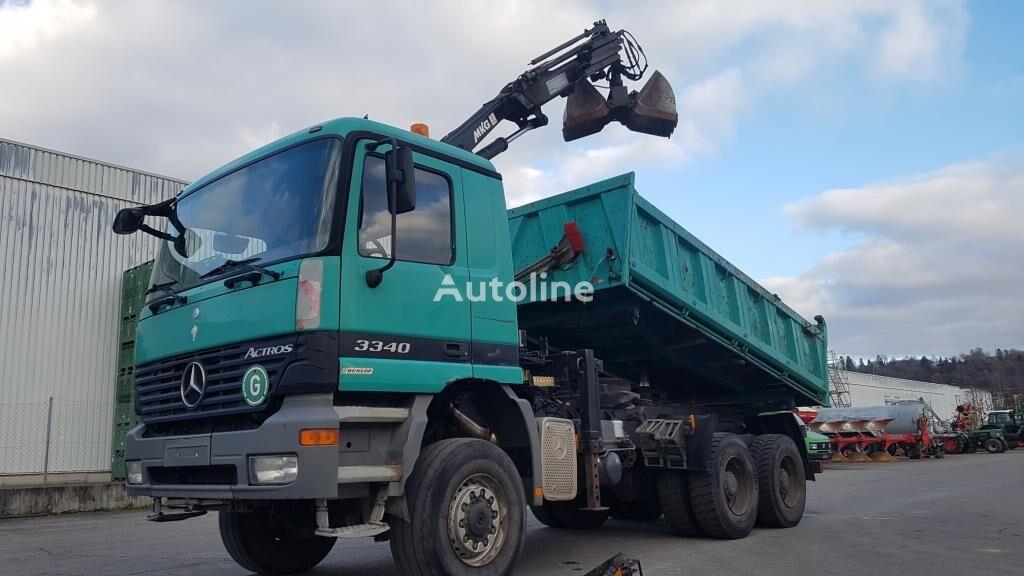 MERCEDES-BENZ ACTROS 3340 dump truck