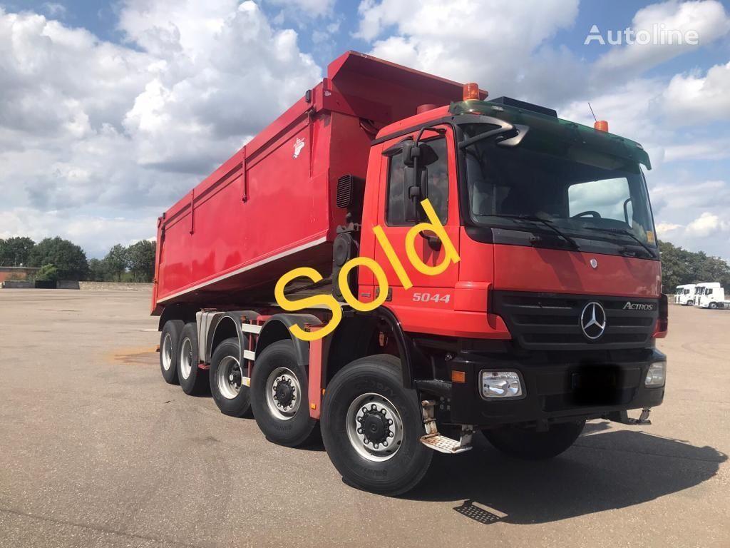 MERCEDES-BENZ ACTROS 5044 AK - 10x8 - Euro 5 - Telligent - 3 pedals dump truck