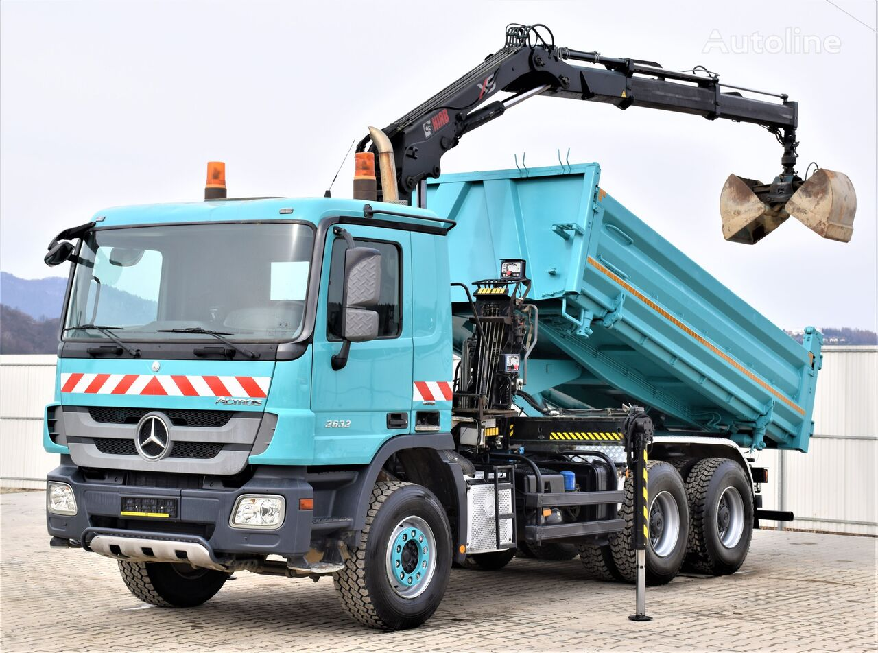 MERCEDES-BENZ Actros 2632 Bordmatic 4,80m+Kran*Topzustand*! dump truck