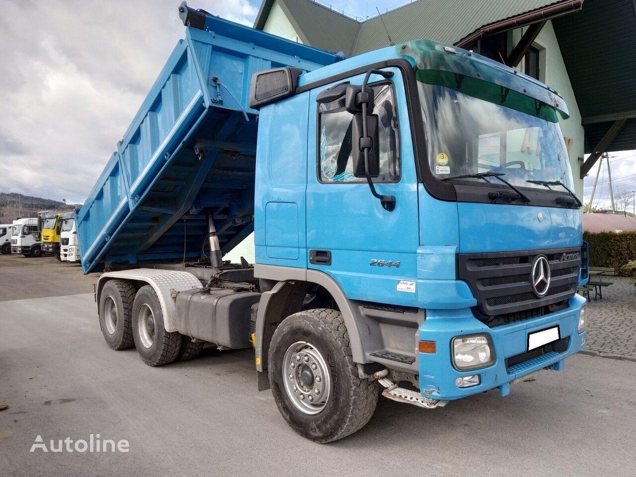 MERCEDES-BENZ Actros 2644 dump truck