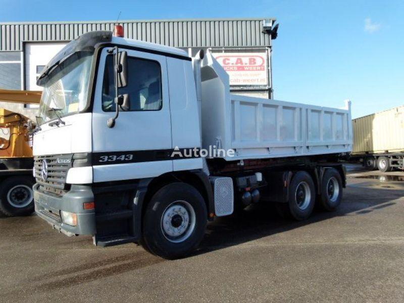 MERCEDES-BENZ Actros 3343 Actros 3343 6x4 - Telligent with 3 pedals dump truck