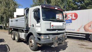 RENAULT Kerax 420.26 6x4 3 old Billencs Meiller felépítmény dump truck