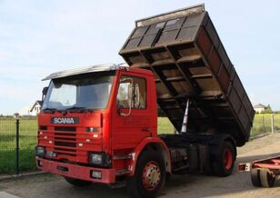 SCANIA 112 dump truck