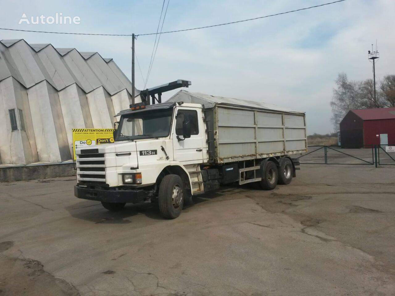SCANIA 113 6x4   dump truck