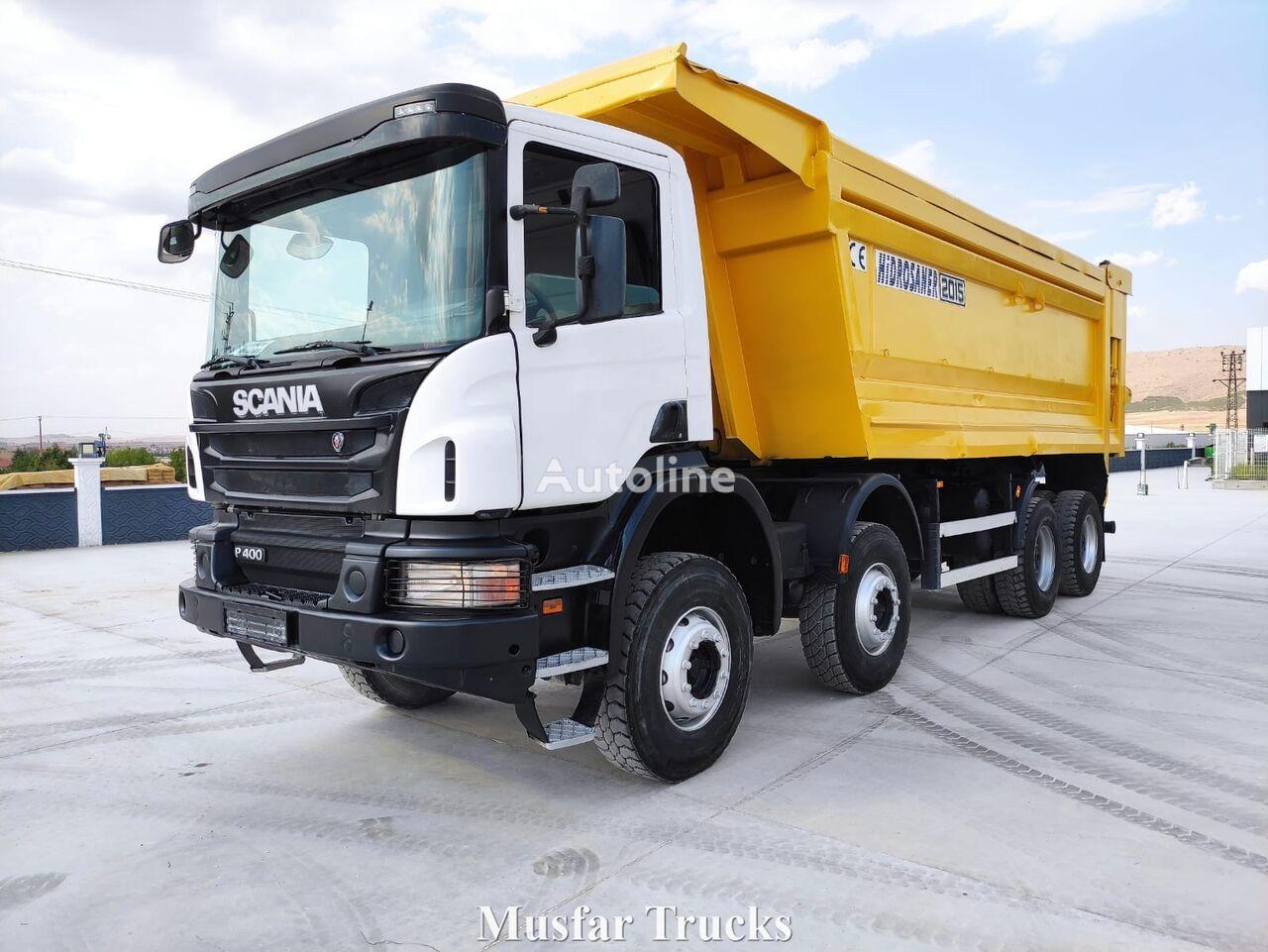 SCANIA 2015 Model - P400 dump truck