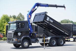 SCANIA G360  dump truck