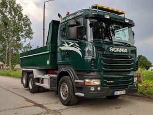 SCANIA R440 dump truck