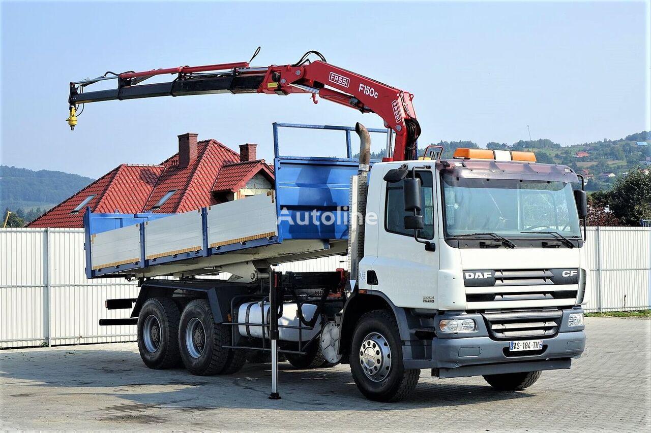 DAF CF 75.360 *Kipper 6,10 + Kran*6x4 *Topzustand! dump truck