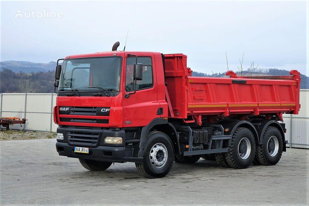DAF  CF 85.380 Kipper+Bordmatic 5,20m Top Zustand! dump truck