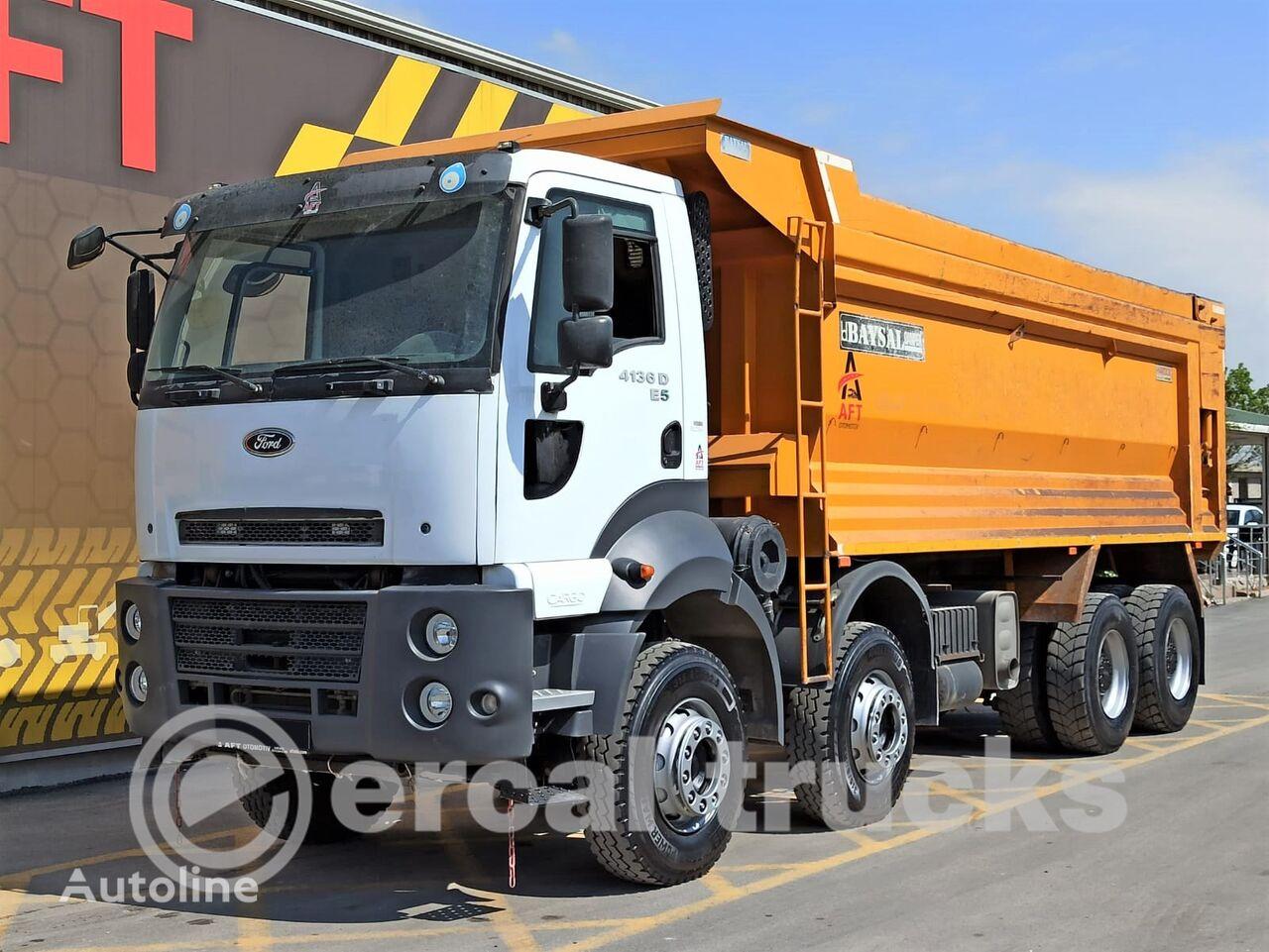 FORD 2016 CARGO 4136 D E5 AC 8X4 HARDOX TIPPER dump truck