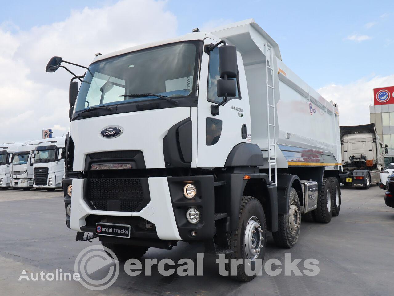 FORD 2016 CARGO 4142 MANUEL AC 8X4 EURO 6 HARDOX TIPPER dump truck