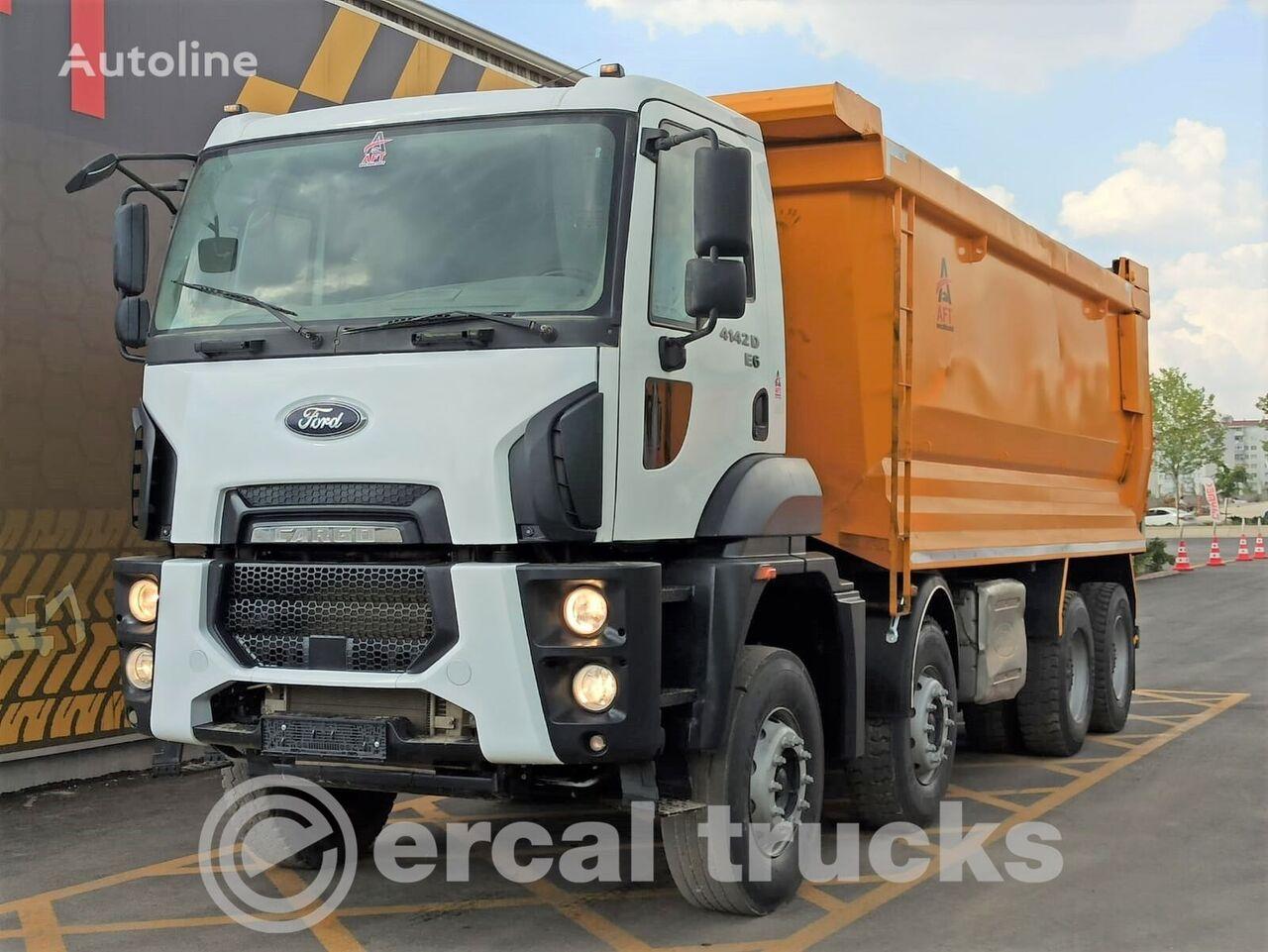 FORD 2017 CARGO 4142 D E6 AC 8X4 HARDOX TIPPER dump truck