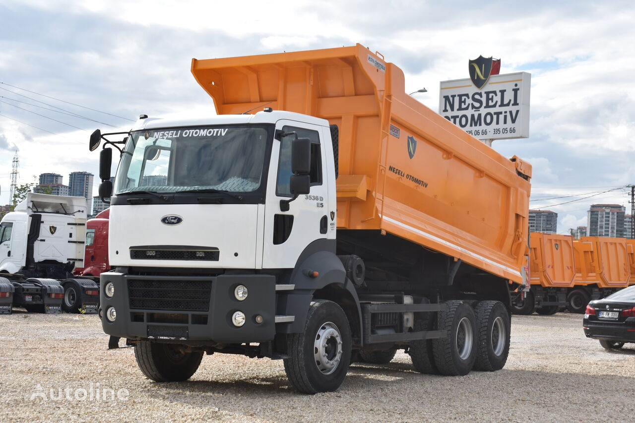 FORD CARGO 2015 MODEL 3536 E5 + A/C + HARDOX dump truck