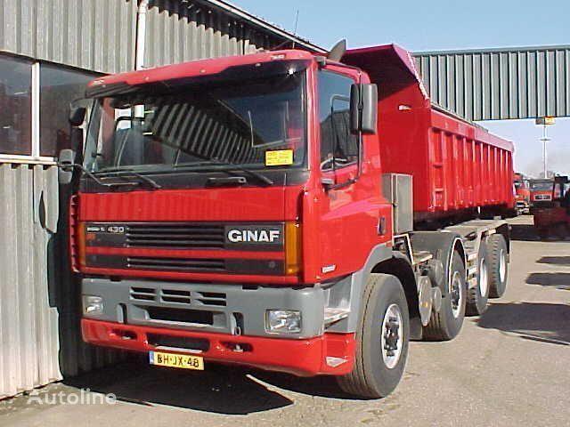 GINAF M 4243-TS / 8x4 dump truck