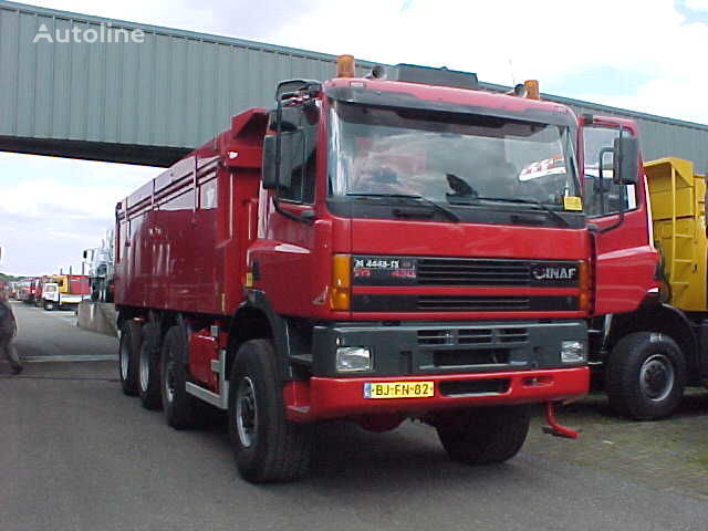 GINAF M 4446-TS - 8x8 dump truck