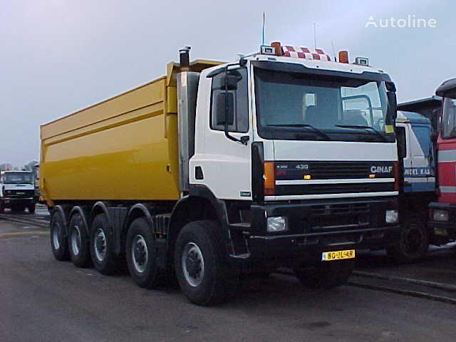 GINAF M 5450 10x8 dump truck