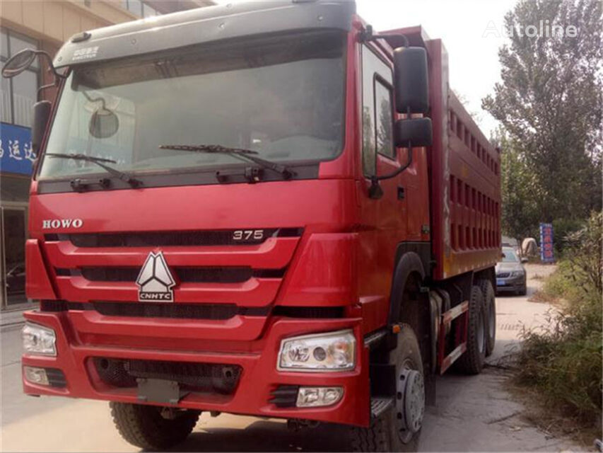 HOWO 375HP 6*4 dump truck