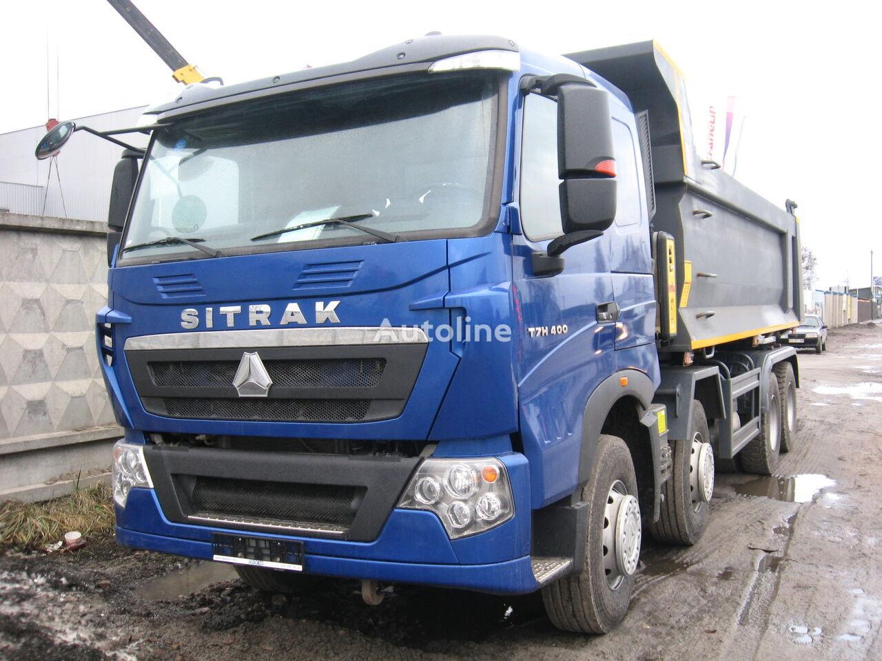 new HOWO SITRAK T7H dump truck