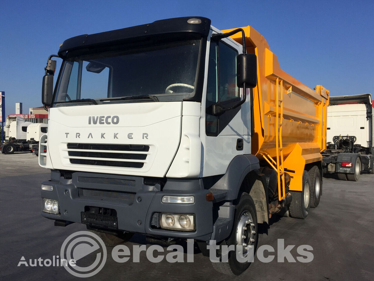 IVECO 2008 TRAKKER 380 6X4 EURO 3 HARDOX TIPPER dump truck