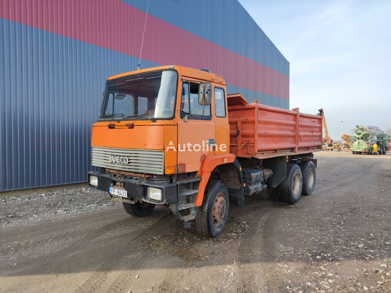 IVECO 330-30, 6x6, water cooling, ZF dump truck