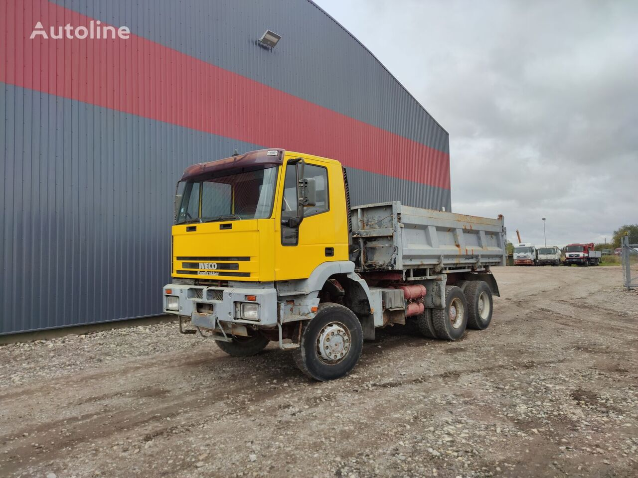IVECO 380E34, 6x6 dump truck