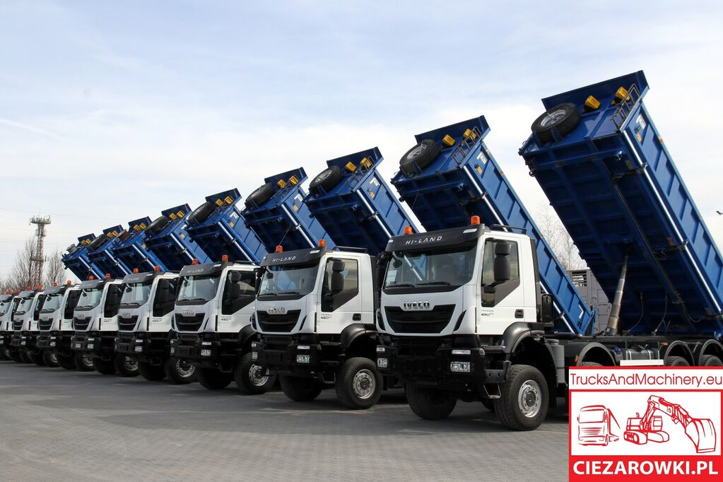 IVECO 8x8 / e6 / TRAKKER  / retarder / hydraul. board sides / / ful dump truck