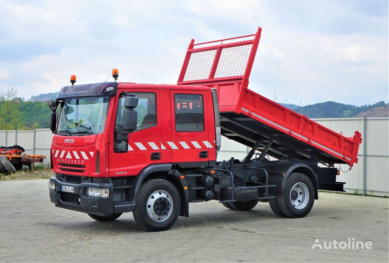 IVECO EUROCARGO 120E18 Kipper 3,70 m *Topzustand! dump truck