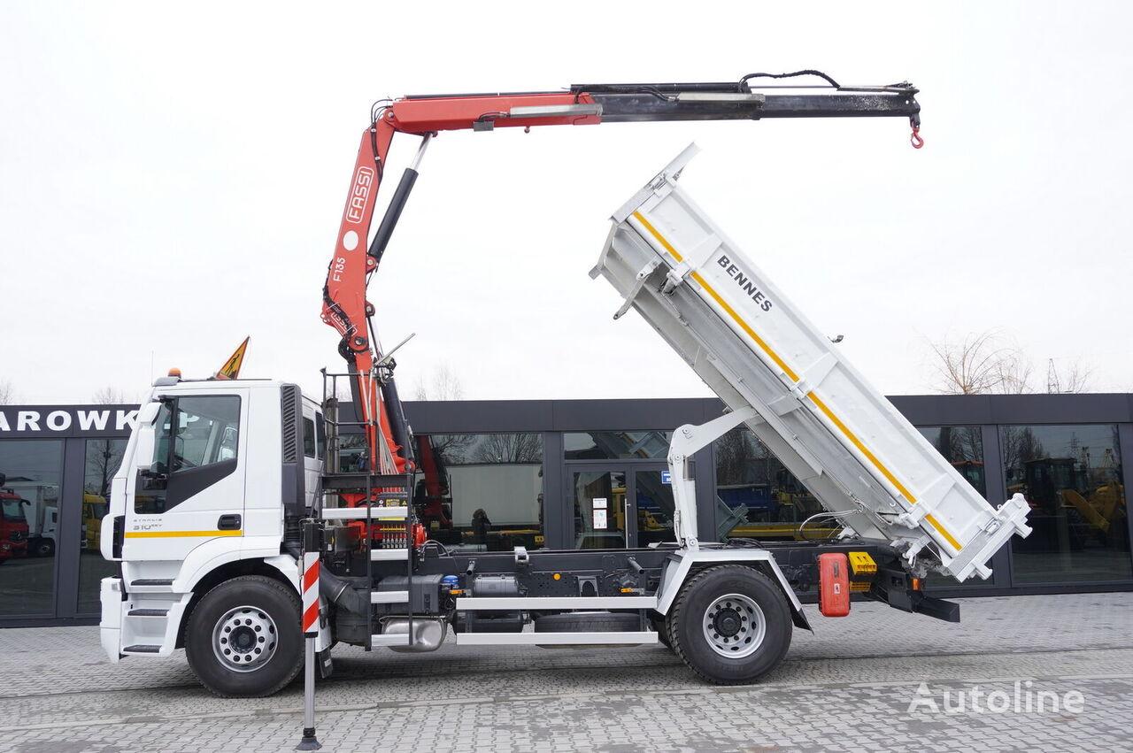 IVECO Stralis 310 , 4x2 , E5 , 140K km ! 3-side tipper , bordmatic , C dump truck