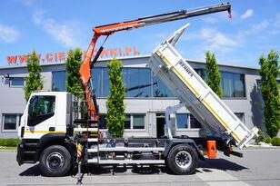 IVECO Stralis 310 , EEV , 120.000km , 3 side tipper , bordmatic , Cran dump truck