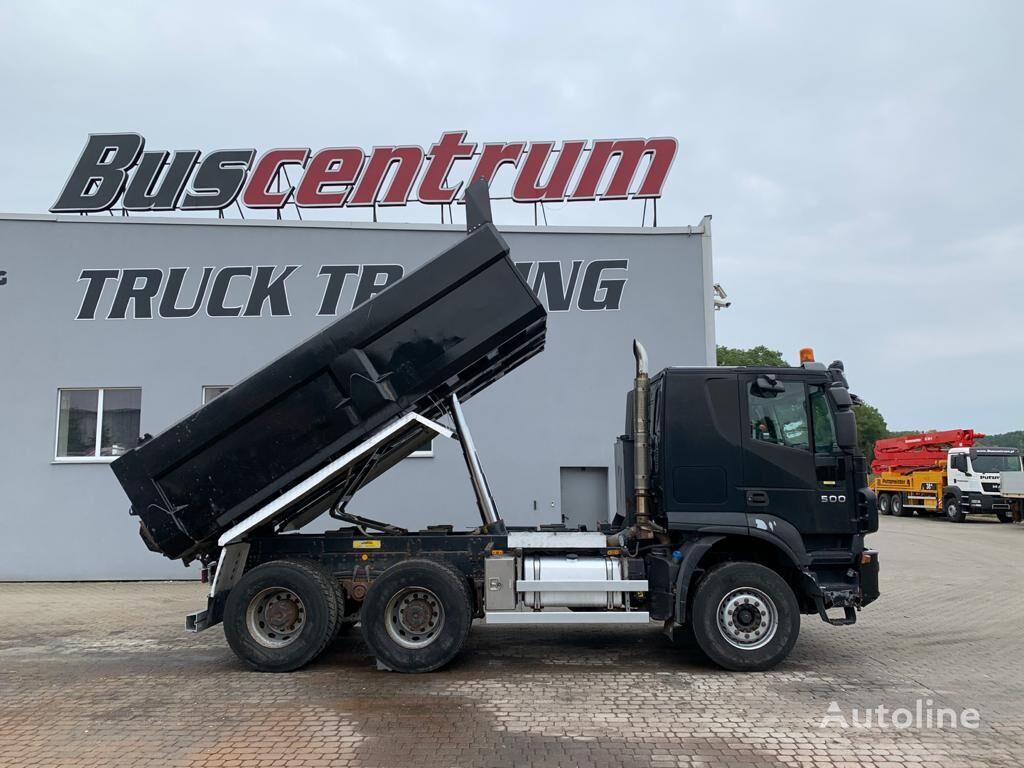 IVECO Trakker 500 6x4 Kipper Meiller dump truck