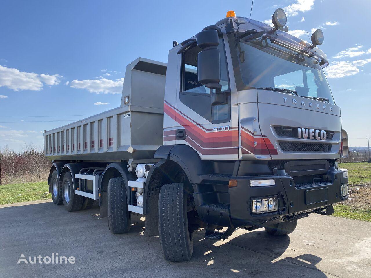IVECO Trakker 8x4 500HP dump truck