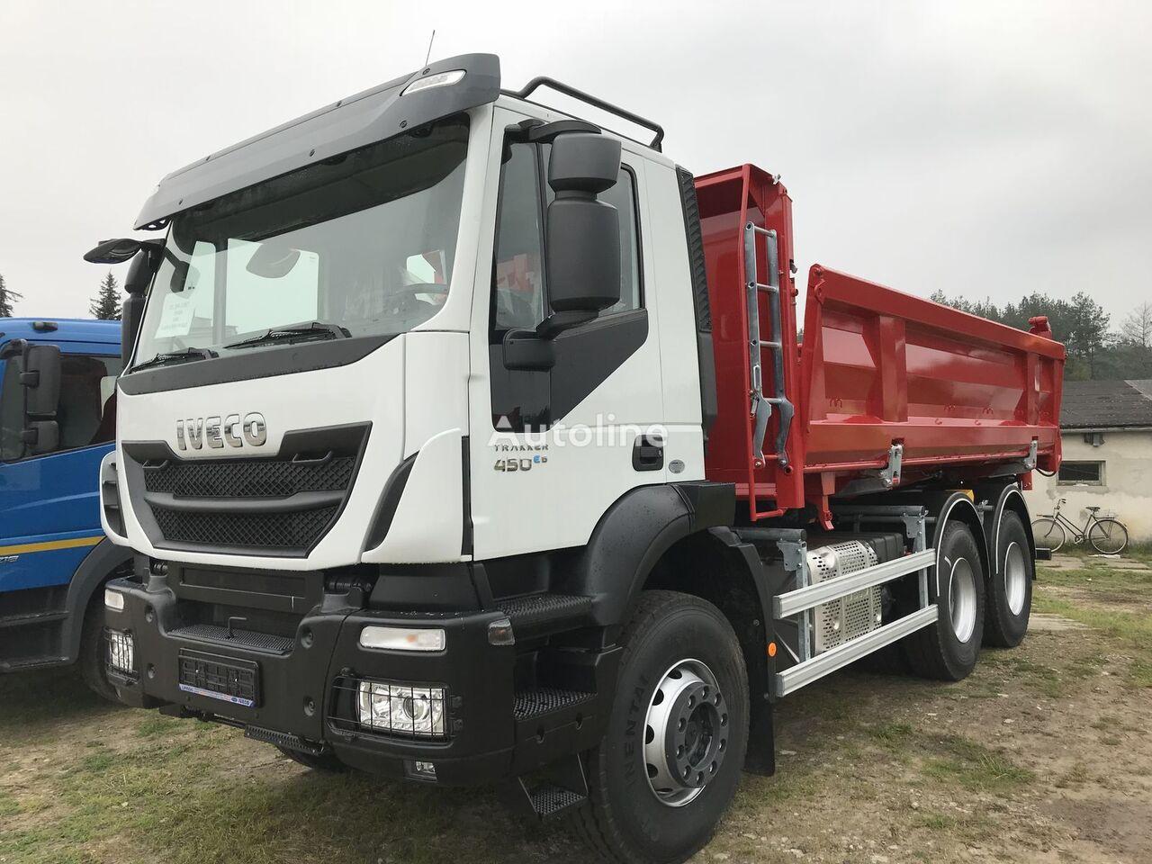 new IVECO Trakker AD380T45 6x4 dump truck
