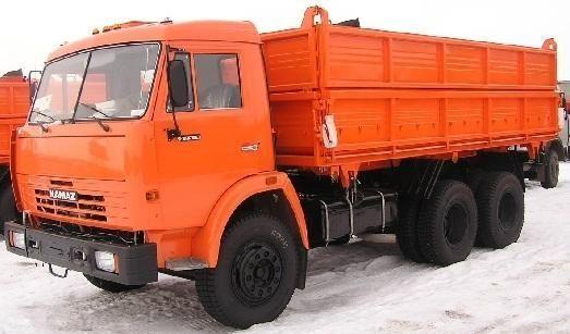 new KAMAZ 45143 dump truck