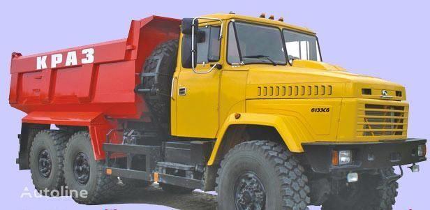 new KRAZ 6133C6  dump truck