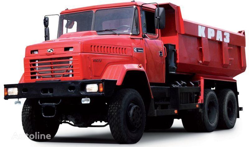 new KRAZ 65032 dump truck